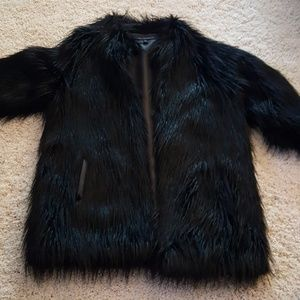 Via Spiga Faux Fur Coat